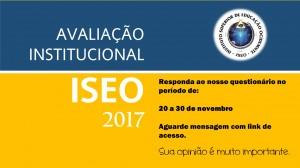 Avaliacao Institucional 2017
